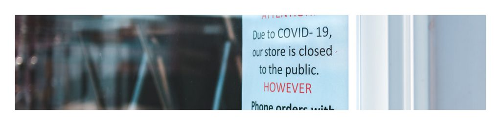 Transmission of COVID-19 is increased in large, public gatherings. Due to this, many stores close and offer curb-side pickup only.